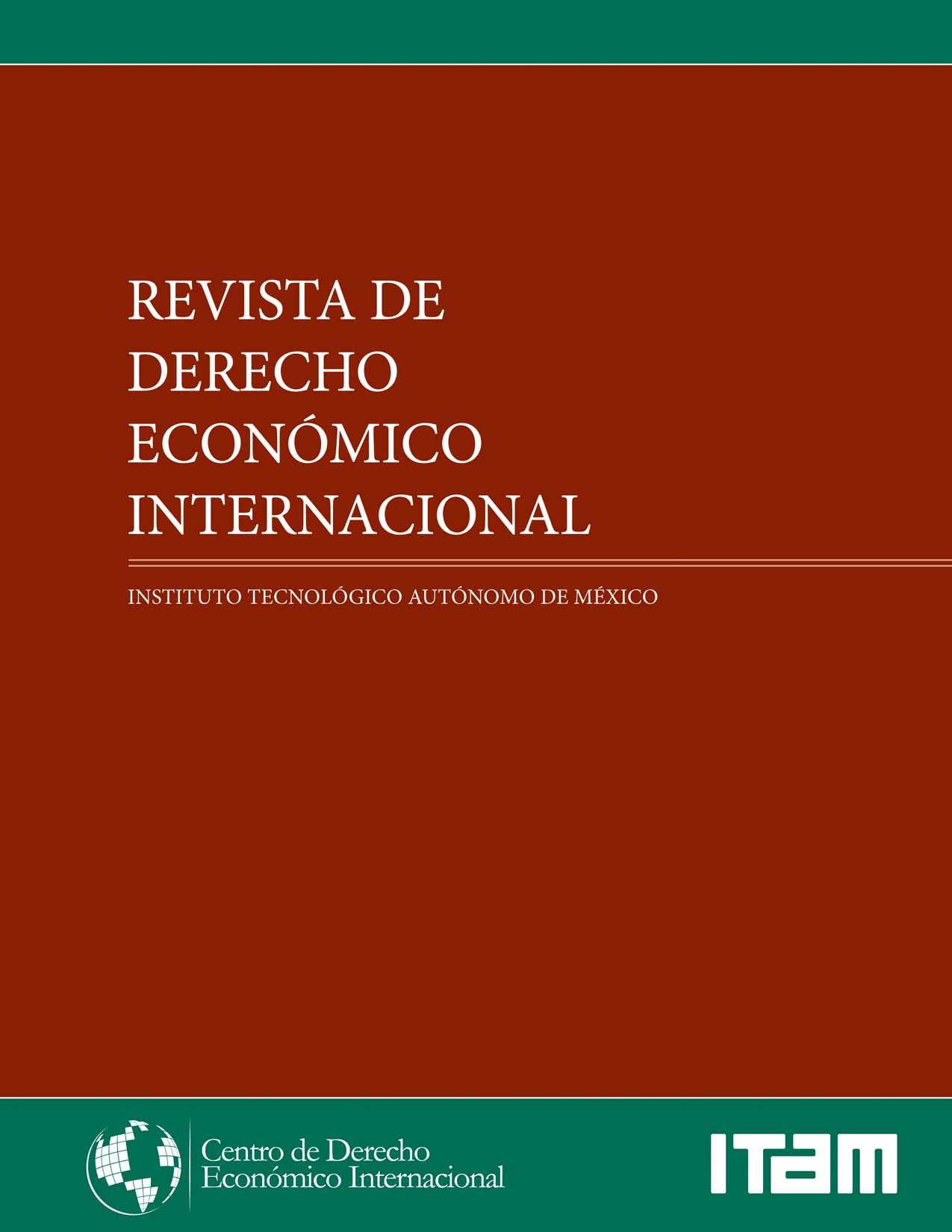 Revista de Derecho Económico Internacional